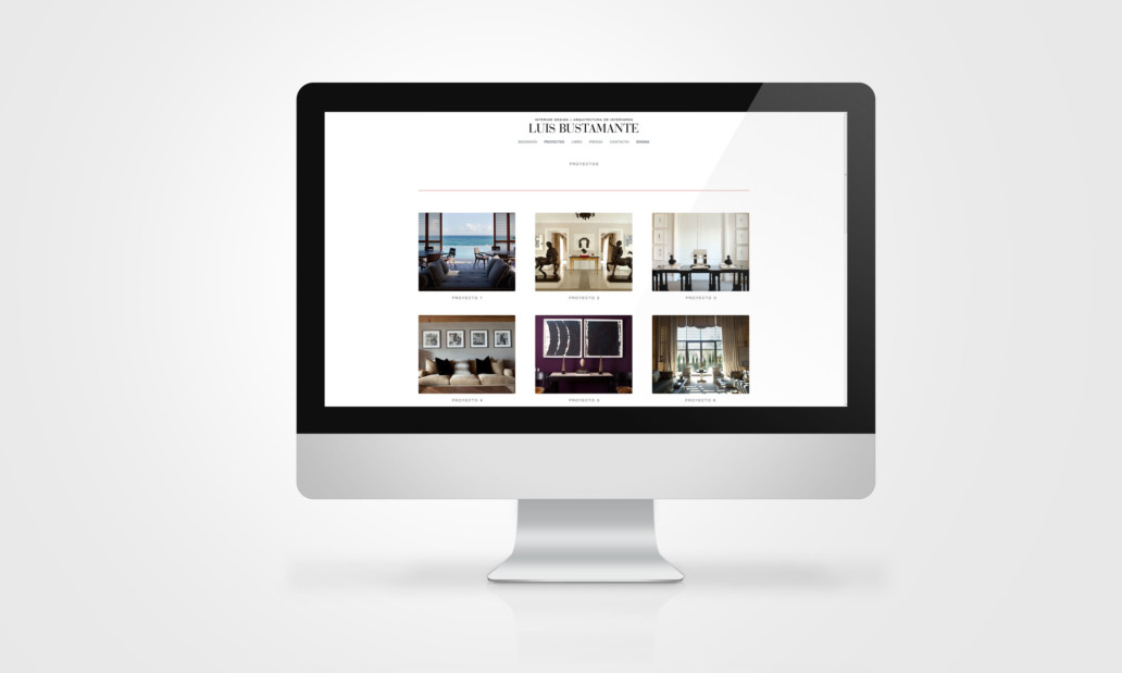 Luis Bustamante Website | Nicolas Sieber